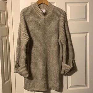 Isabel Maternity by Ingrid & Isabel Sweaters - ISABEL MATERNITY {Target} woven tunic sweater